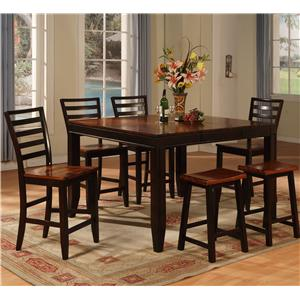 Holland House Adaptable Dining 7 Piece Casual Set