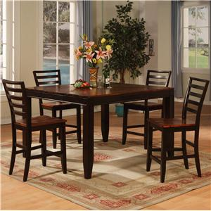 Holland House Adaptable Dining 5 Piece Casual Dining Set