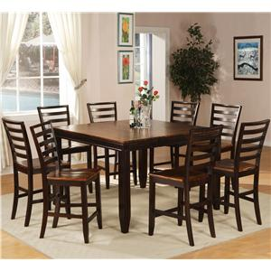 Holland House Adaptable Dining 9 Piece Casual Dining Set