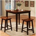 Holland House Adaptable Dining 3 Piece Pub Set
