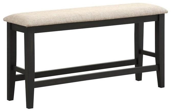 Baytown Upholstered Counter Bench at Walker's Furniture