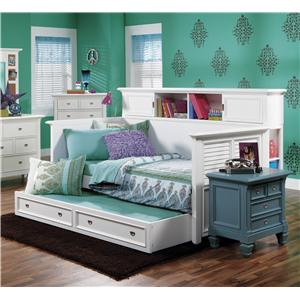 Morris Home Furnishings Berkshire Berkshire Bookcase Day Bed