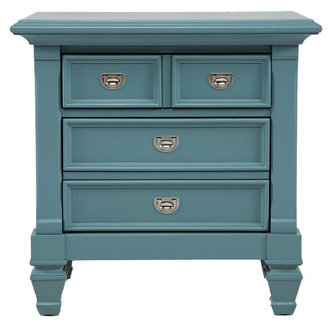Morris Home Furnishings Berkshire Berkshire Nightstand - Item Number: Blue-36