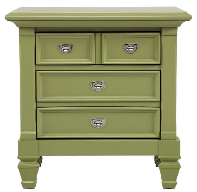Morris Home Furnishings Belmar Youth Nightstand - Item Number: Green-36