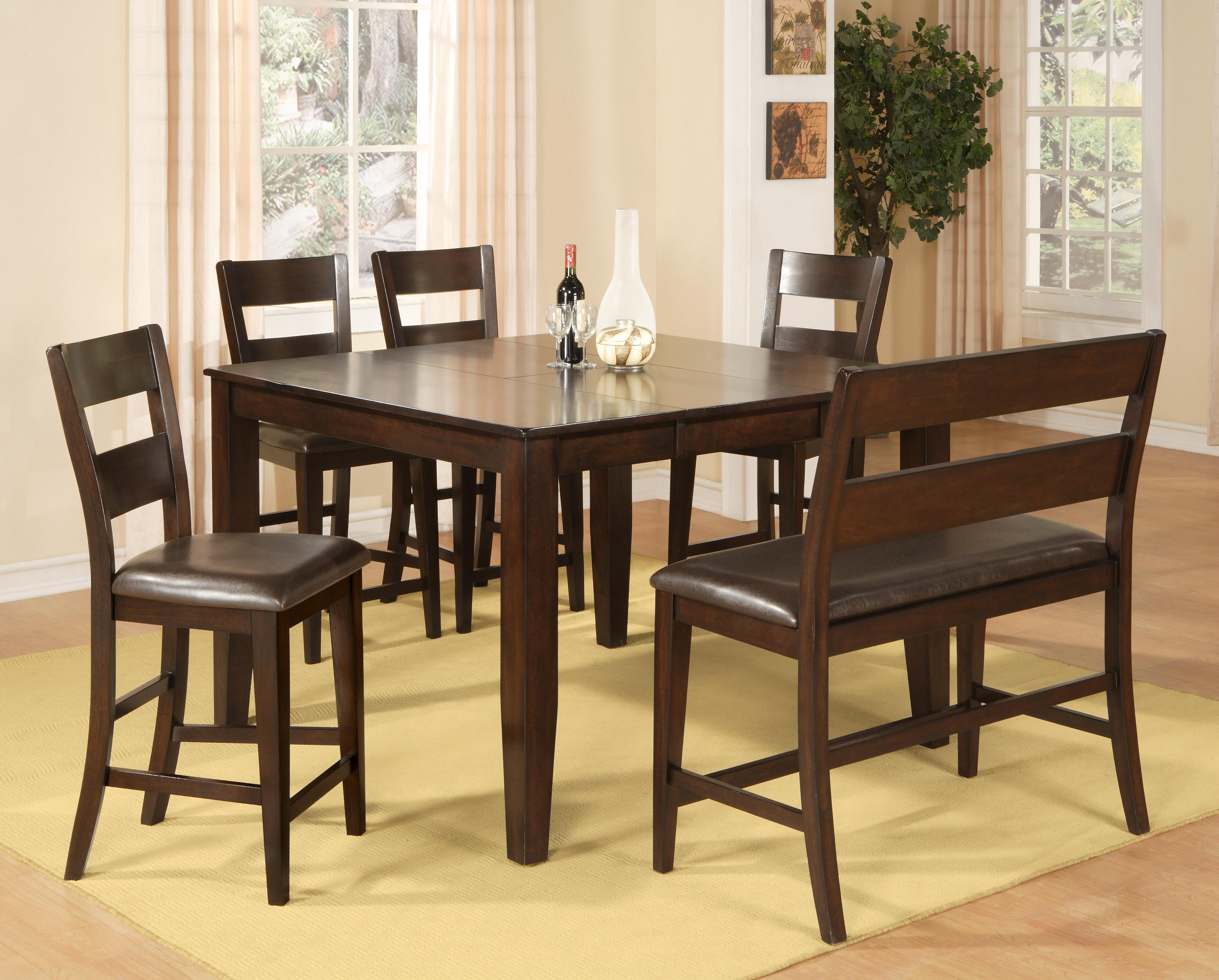 Holland House Bend 6 Piece Pub Table Dining Set   Item Number: 1289 TPB5454