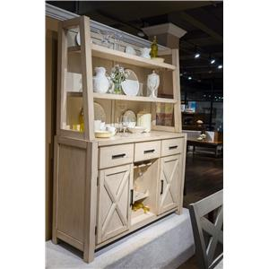 Morris Home Furnishings Melbourne - Melbourne 2-Piece Sideboard with Hutch