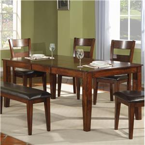Morris Home Furnishings Melbourne Melbourne Dining Table
