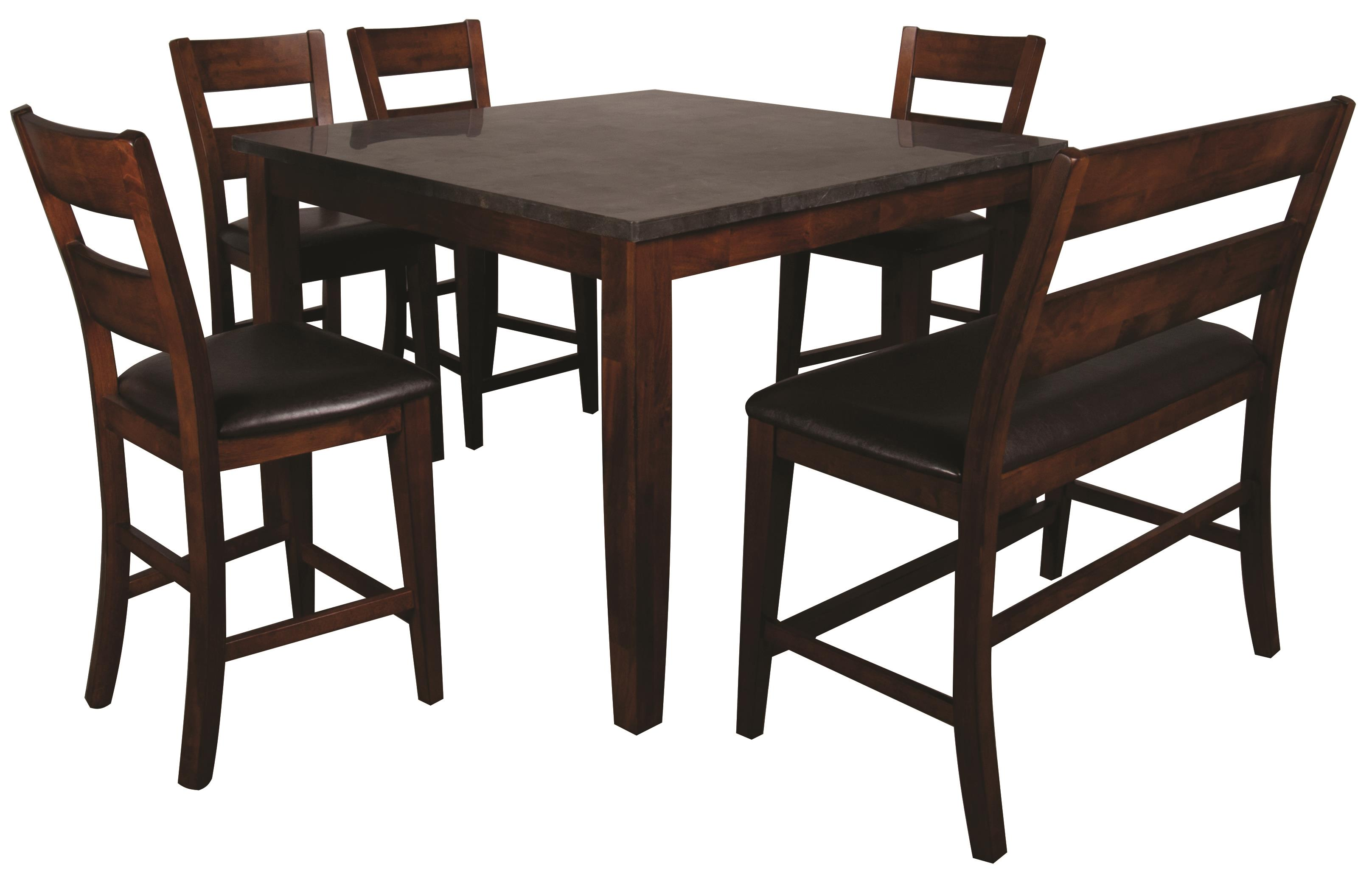 Kitchen Tables And Chairs Melbourne Melbourne 6 piece pub set with blue stone top morris home pub morris home furnishings melbourne melbourne 6 piece pub set item number 388129249 workwithnaturefo