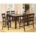 Morris Home Furnishings Melbourne - Melbourne 6-Piece Pub Set - Item Number: 389120672