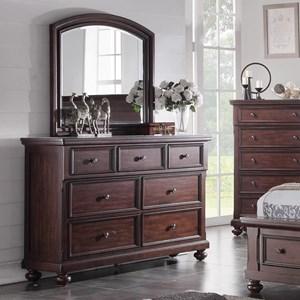 Holland House Brookhaven Dresser & Mirror
