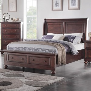 Holland House Brookhaven King Sleigh Storage Bed