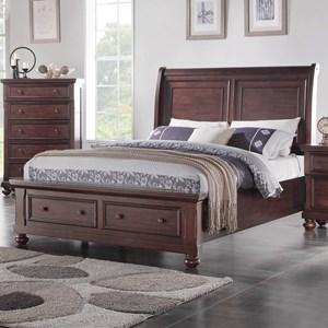 Holland House Brookhaven Queen Sleigh Storage Bed