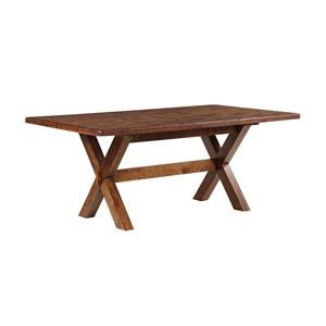 "Morris Home Furnishings Creston Creston 72"" Table"