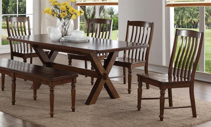 Morris Home Furnishings Creston Creston 5-Piece Dining Set - Item Number: 359267576