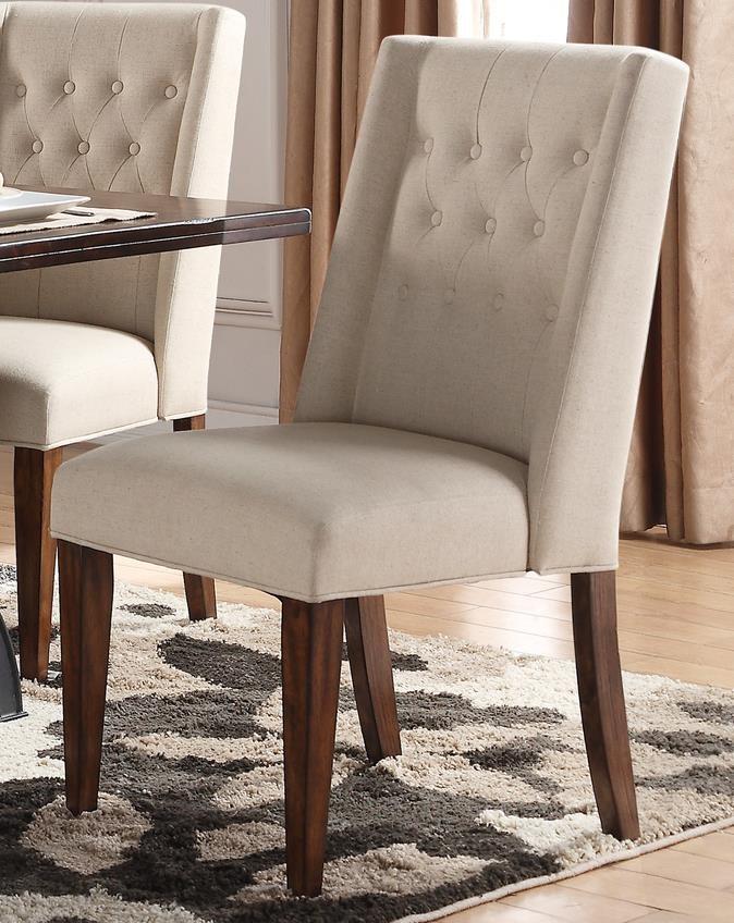 Morris Home Furnishings Creston Creston Upholstered Parsons Chair - Item Number: 895360478