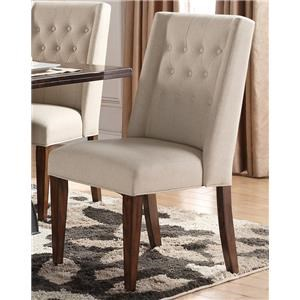 Morris Home Furnishings Creston Creston Upholstered Parsons Chair