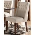Morris Home Furnishings Creston Creston Upholstered Parsons Chair - Item Number: 895360478