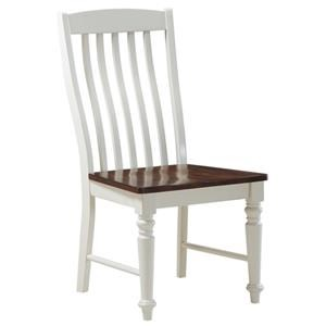 Morris Home Furnishings Creston Creston Panel Back Dining Chair