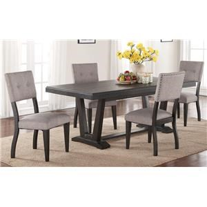 Morris Home Furnishings Forest Place Forest Place 5-Piece Dining Set