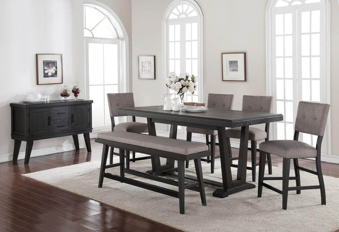 Morris Home Furnishings Forest Place Forest Place 5-Piece Counter Dining Set - Item Number: 253239221