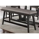 Morris Home Furnishings Forest Place Forest Place Counter Bench - Item Number: 293382716