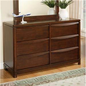 Morris Home Furnishings Granada Granada Dresser