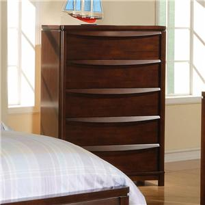 Morris Home Furnishings Granada Granada 5 Drawer Chest