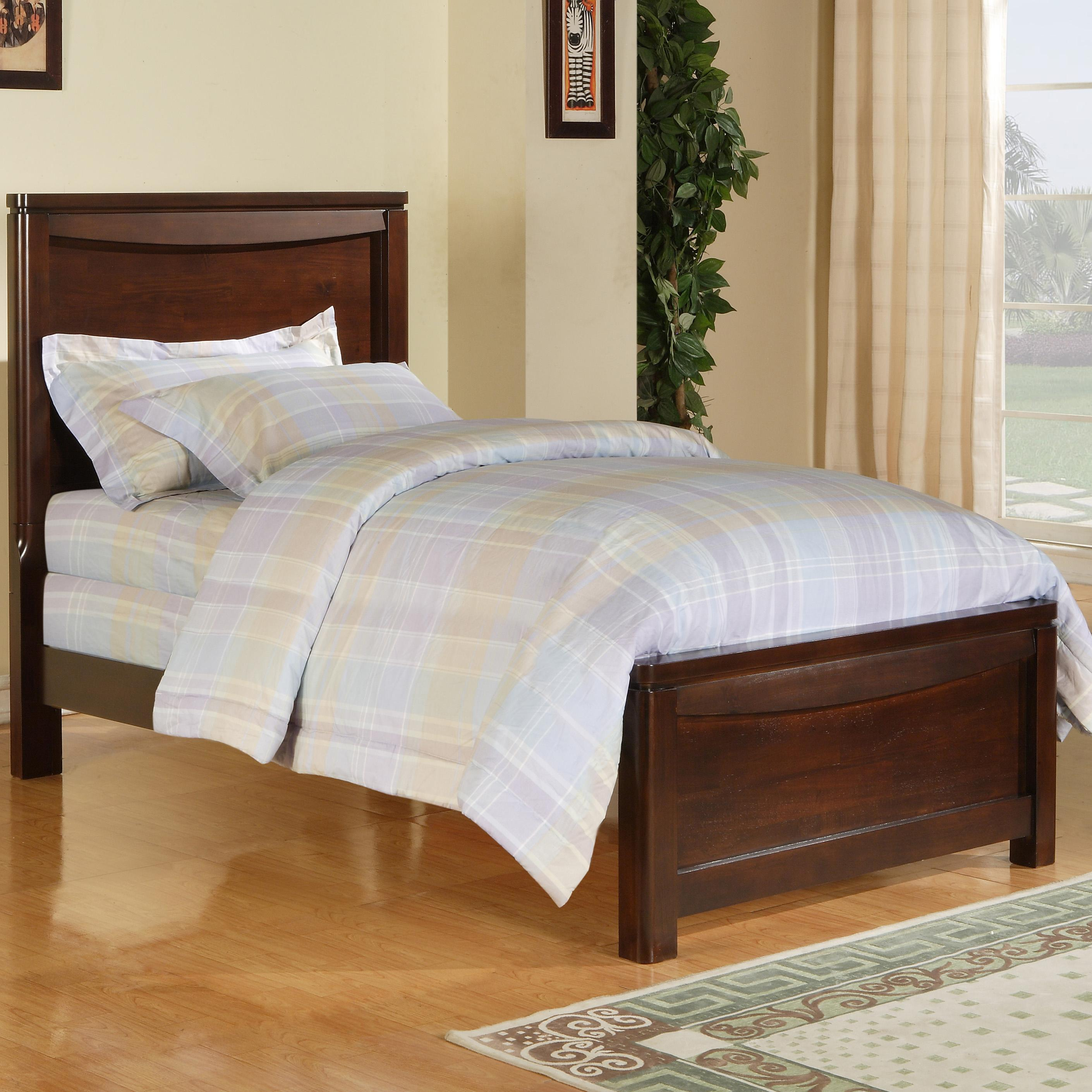 Morris Home Furnishings Granada Granada Twin Panel Bed - Item Number: 2260-19H+19F+19R