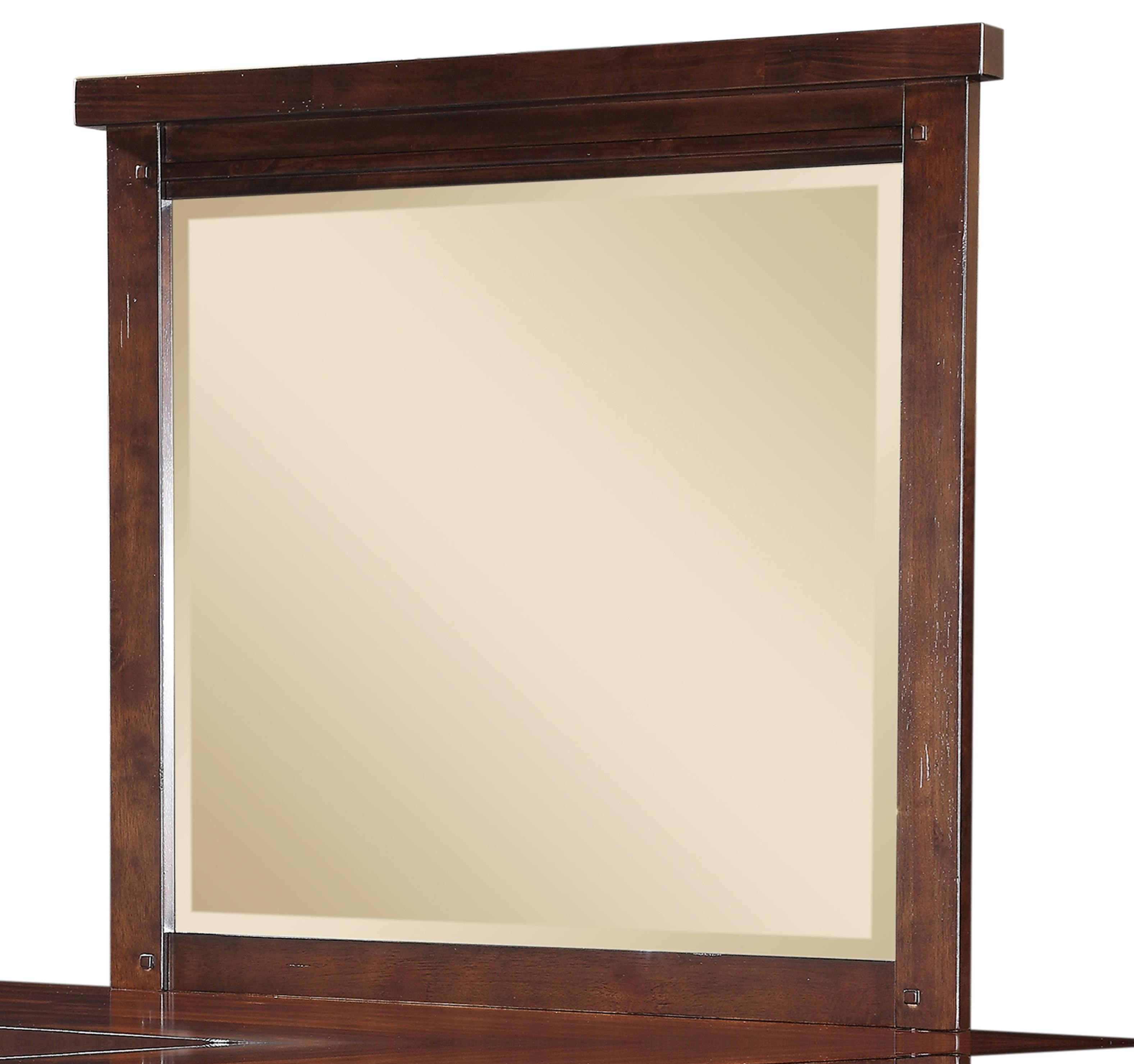 HAYWARD MANGO WOOD MIRROR at Walker's Furniture