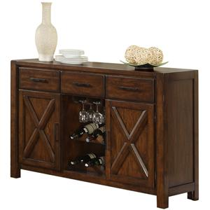 Morris Home Furnishings Norwalk Newport Sideboard