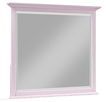 Lavender Rose Square Dresser Mirror at Rotmans