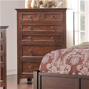 Holland House Layton Park 6-Drawer Dresser