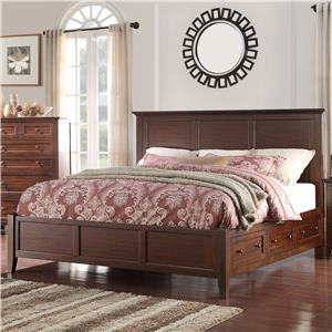 Holland House Layton Park Queen Storage Bed