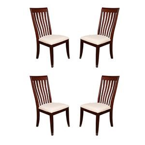 Morris Home Furnishings Lennox Lennox 4-Piece Dining Chair Package