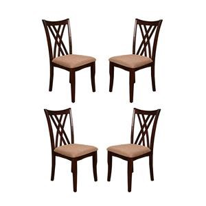 Morris Home Furnishings Mina Mina 4-Piece Dining Side Chair Package