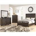 Holland House Montana King 5 Piece Bedroom Group - Item Number: 2622 King 5 Pc Group