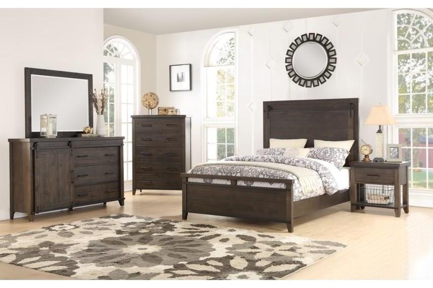 Durango 5 Piece Queen Bedroom Group at Walker's Furniture