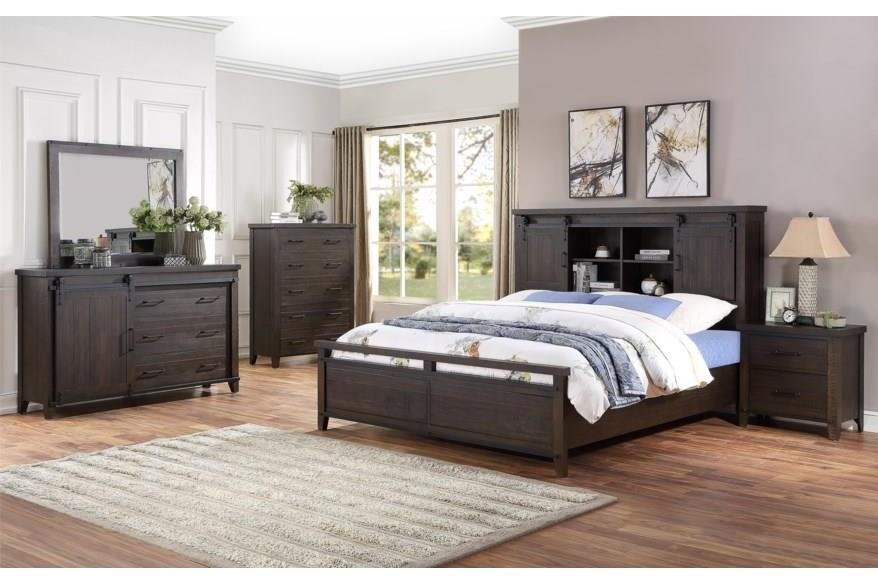 Durango 5 Piece Queen Bedroom Group by HH at Walker's Furniture