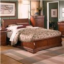 Holland House Nicolet Queen Platform Bed - 401-49H+49F+49R