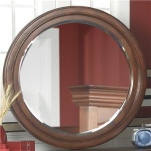 Holland House Petite Louis Round Dresser Mirror