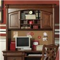 Holland House Petite Louis 2 Door, 3 Shelf Desk Hutch - 456-45