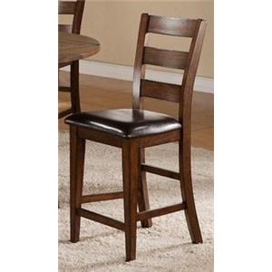 Morris Home Furnishings Pinedale Pinedale Counter Height Chair