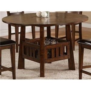 Morris Home Furnishings Pinedale Pinedale Counter Height Table