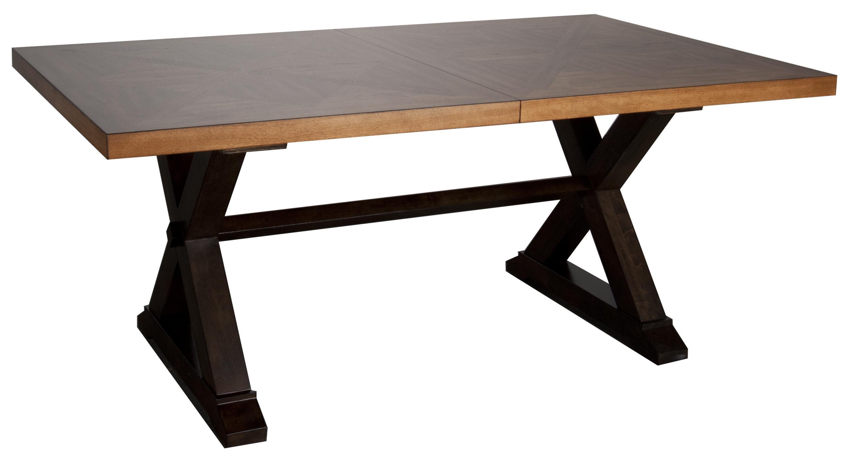 Morris Home Furnishings Saranac Saranac Dining Table - Item Number: 1283-4296