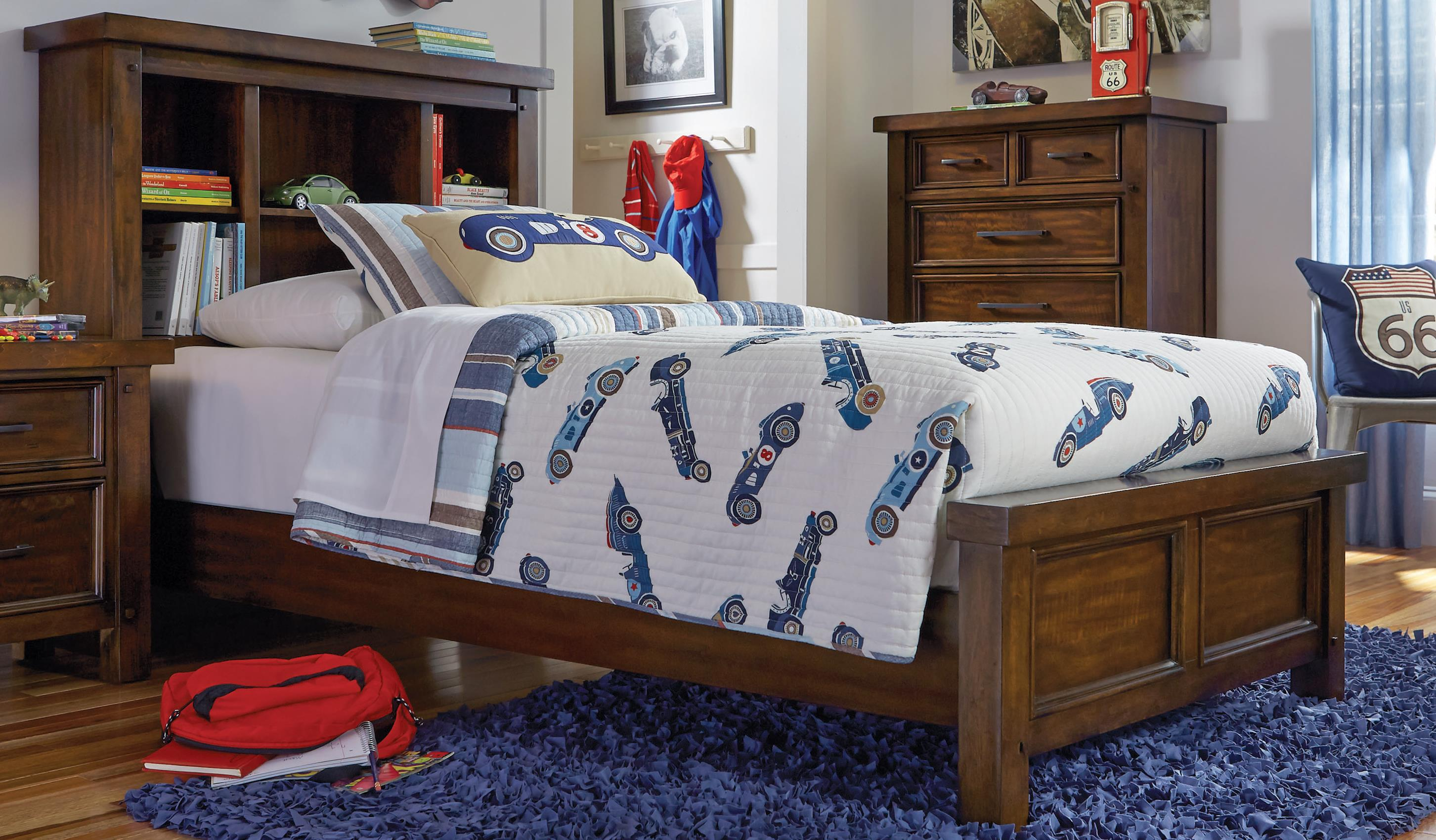 Sorrento Sorrento Full Bookcase Bed by Holland House at Morris Home