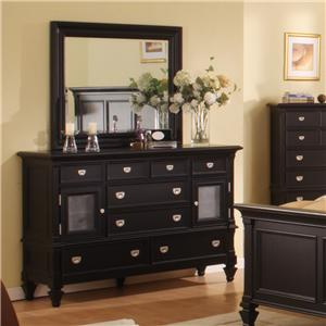 Holland House Summer Breeze Dresser & Mirror