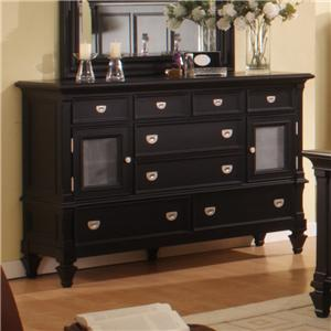 Morris Home Furnishings Surrey Surrey Door Dresser