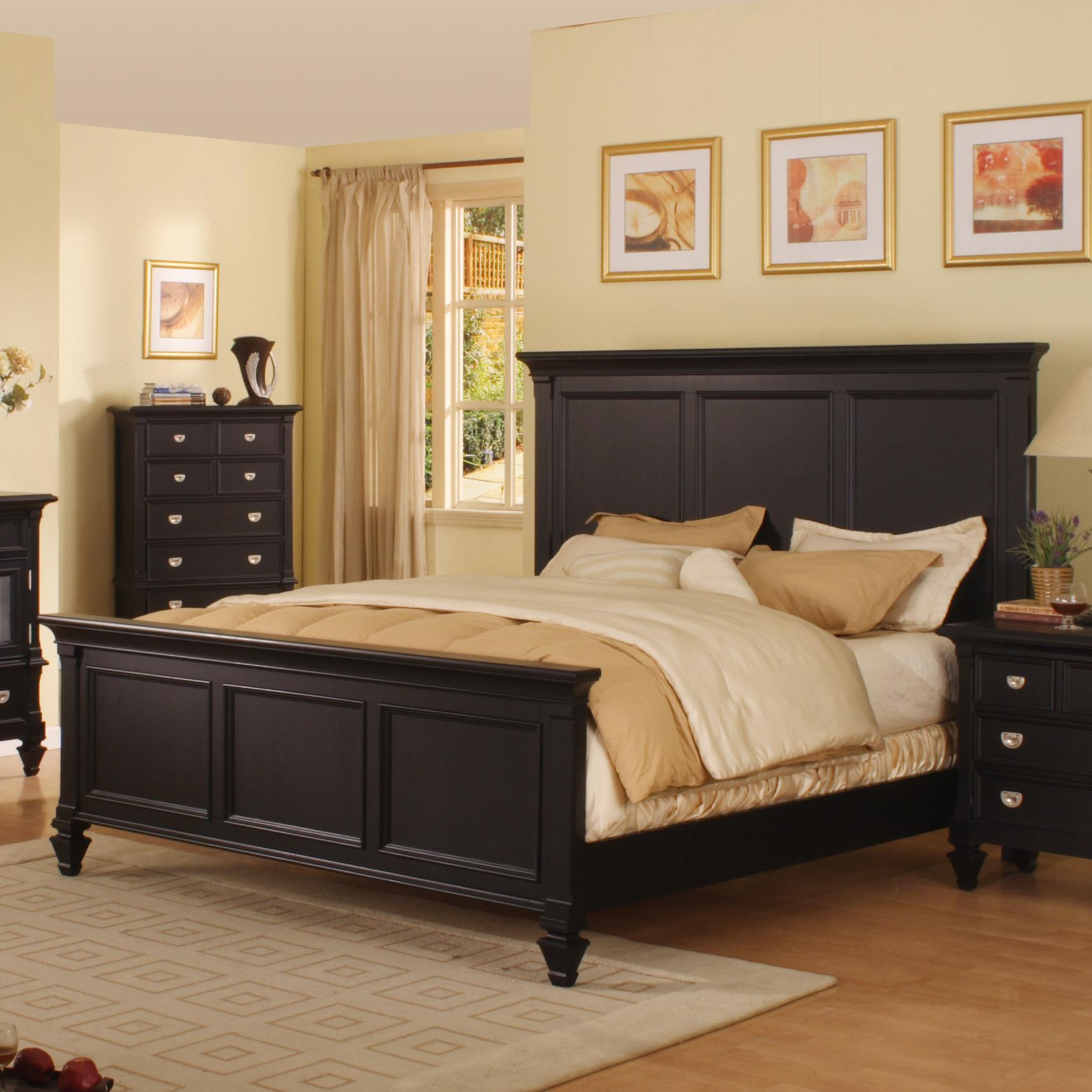 Morris Home Furnishings Surrey Surrey King Panel Bed  - Item Number: 494-22H+22F+22R