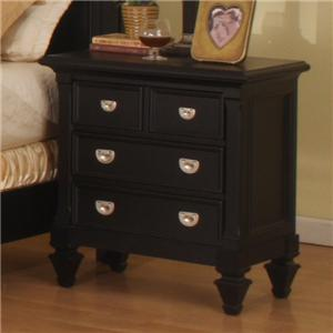 Holland House Summer Breeze 5 Drawer Chest Royal