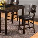 Holland House Townhouse Counter Height Stool with Upholstered Seat - GV107-224